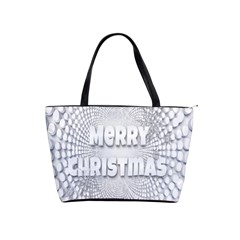 Oints Circle Christmas Merry Shoulder Handbags