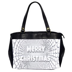 Oints Circle Christmas Merry Office Handbags (2 Sides)