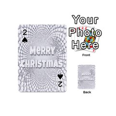 Oints Circle Christmas Merry Playing Cards 54 (mini)