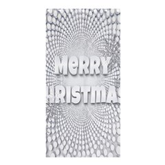 Oints Circle Christmas Merry Shower Curtain 36  x 72  (Stall)
