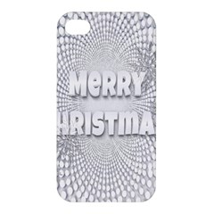 Oints Circle Christmas Merry Apple Iphone 4/4s Hardshell Case
