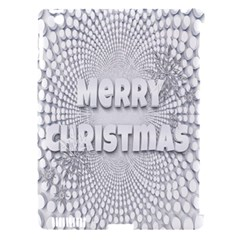 Oints Circle Christmas Merry Apple Ipad 3/4 Hardshell Case (compatible With Smart Cover)