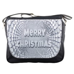 Oints Circle Christmas Merry Messenger Bags