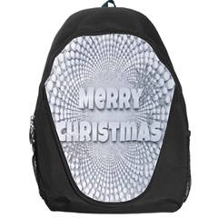 Oints Circle Christmas Merry Backpack Bag