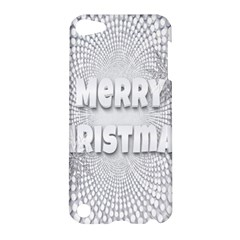 Oints Circle Christmas Merry Apple Ipod Touch 5 Hardshell Case