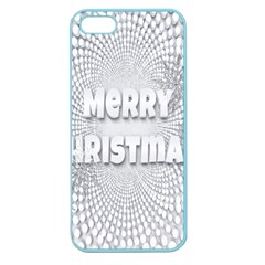 Oints Circle Christmas Merry Apple Seamless Iphone 5 Case (color)