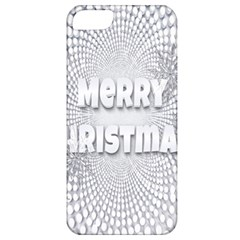 Oints Circle Christmas Merry Apple Iphone 5 Classic Hardshell Case