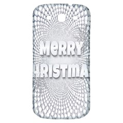 Oints Circle Christmas Merry Samsung Galaxy S3 S Iii Classic Hardshell Back Case