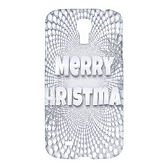 Oints Circle Christmas Merry Samsung Galaxy S4 I9500/I9505 Hardshell Case