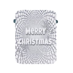 Oints Circle Christmas Merry Apple Ipad 2/3/4 Protective Soft Cases