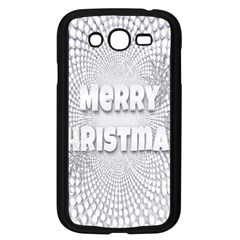 Oints Circle Christmas Merry Samsung Galaxy Grand Duos I9082 Case (black)