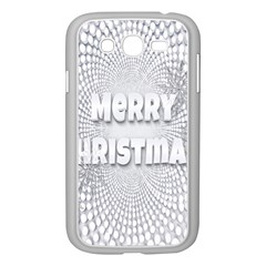 Oints Circle Christmas Merry Samsung Galaxy Grand DUOS I9082 Case (White)