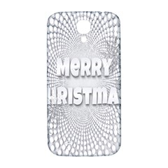 Oints Circle Christmas Merry Samsung Galaxy S4 I9500/i9505  Hardshell Back Case