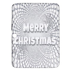 Oints Circle Christmas Merry Samsung Galaxy Tab 3 (10.1 ) P5200 Hardshell Case