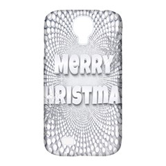 Oints Circle Christmas Merry Samsung Galaxy S4 Classic Hardshell Case (pc+silicone)