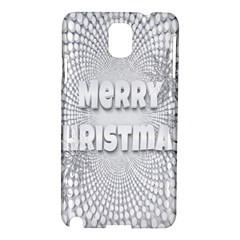 Oints Circle Christmas Merry Samsung Galaxy Note 3 N9005 Hardshell Case
