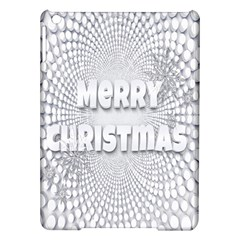 Oints Circle Christmas Merry Ipad Air Hardshell Cases