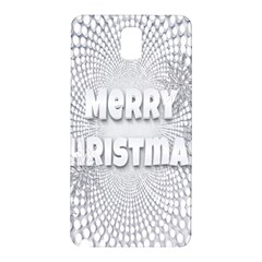 Oints Circle Christmas Merry Samsung Galaxy Note 3 N9005 Hardshell Back Case
