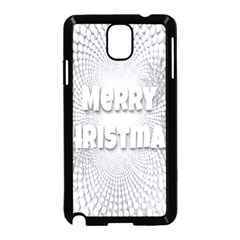 Oints Circle Christmas Merry Samsung Galaxy Note 3 Neo Hardshell Case (Black)