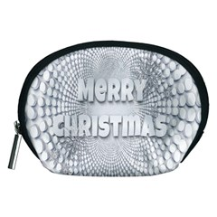 Oints Circle Christmas Merry Accessory Pouches (medium)