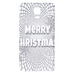 Oints Circle Christmas Merry Galaxy Note 4 Back Case