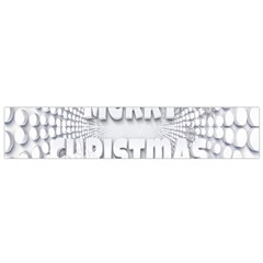 Oints Circle Christmas Merry Flano Scarf (Small)