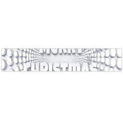 Oints Circle Christmas Merry Flano Scarf (large)