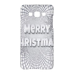 Oints Circle Christmas Merry Samsung Galaxy A5 Hardshell Case