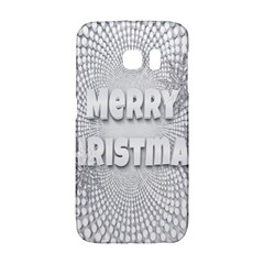 Oints Circle Christmas Merry Galaxy S6 Edge