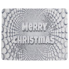 Oints Circle Christmas Merry Jigsaw Puzzle Photo Stand (Rectangular)