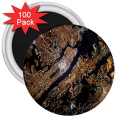 Night View 3  Magnets (100 pack)