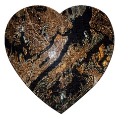 Night View Jigsaw Puzzle (heart)