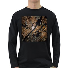 Night View Long Sleeve Dark T-Shirts