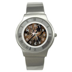 Night View Stainless Steel Watch