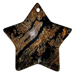 Night View Star Ornament (Two Sides)