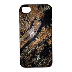 Night View Apple Iphone 4/4s Hardshell Case With Stand