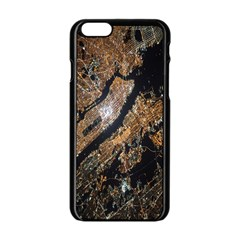 Night View Apple iPhone 6/6S Black Enamel Case
