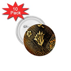 Orange Paper Patterns For Scrapbooking 1.75  Buttons (10 pack)