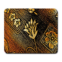 Orange Paper Patterns For Scrapbooking Large Mousepads