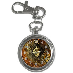 Orange Paper Patterns For Scrapbooking Key Chain Watches