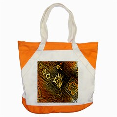 Orange Paper Patterns For Scrapbooking Accent Tote Bag