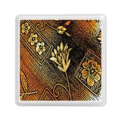 Orange Paper Patterns For Scrapbooking Memory Card Reader (Square)