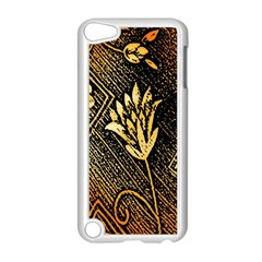 Orange Paper Patterns For Scrapbooking Apple iPod Touch 5 Case (White)