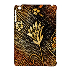 Orange Paper Patterns For Scrapbooking Apple Ipad Mini Hardshell Case (compatible With Smart Cover)