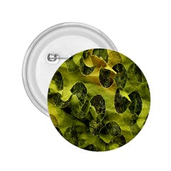 Olive Seamless Camouflage Pattern 2.25  Buttons