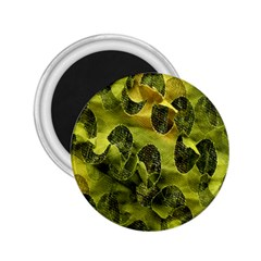 Olive Seamless Camouflage Pattern 2.25  Magnets