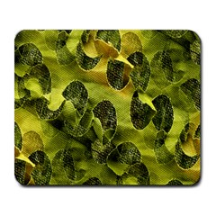 Olive Seamless Camouflage Pattern Large Mousepads