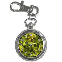 Olive Seamless Camouflage Pattern Key Chain Watches