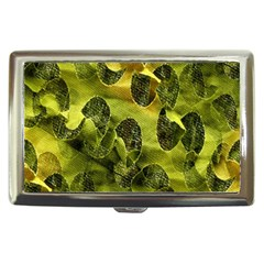 Olive Seamless Camouflage Pattern Cigarette Money Cases