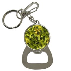 Olive Seamless Camouflage Pattern Button Necklaces